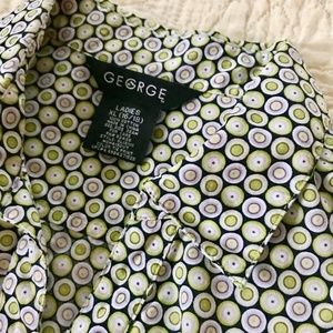 George Short Sleeve Button Down | Size 14
